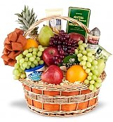 Food & Fruit Baskets: Royal Fruit and Gourmet Basket