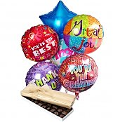 Balloons & Chocolate: Thank You Balloons & Chocolate-6 Mylar